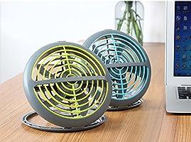 UFO Ventilador Mute mayor Wind USB Mini ventilador de escritorio – Mini ventilador: Amazon.es: Hogar