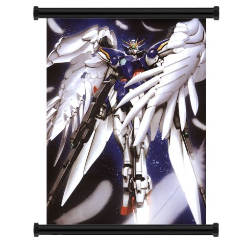 Gundam Wing Wing Zero Anime Fabric Wall Scroll Poster  Inche