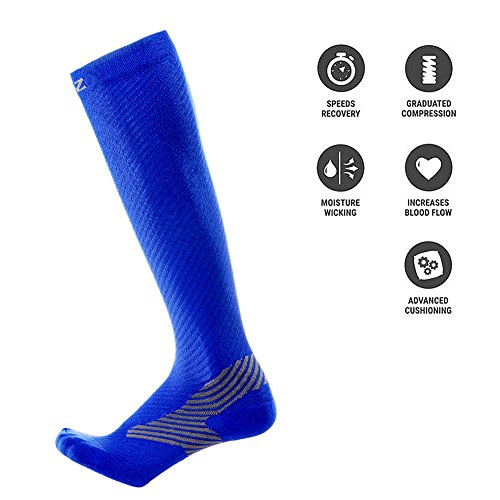 CIZITZZ Compression Sock for Men & Women 20-30 mmhg Athletic Running Compression Socks Boosts Circulation & Recovery- Fit for Running, Pregnancy, Travel & Nurses by
