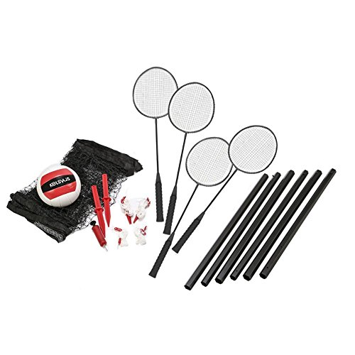 Kelsyus Premium Badminton and Volleyball Combo