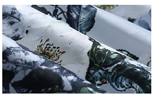 Girocollo Senza Al Stampa Abito Maniche Svasato Con Cintura Cocktail Donne Lingjiu Mostrato Come Con Floreale Vestito Delle Ginocchio Party 78qHnR8g