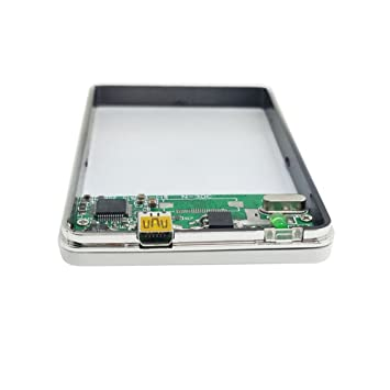 Negro Micro SATA de 1,8 pulgadas 16Pin 7 + 9 SSD a USB 3.0 Caja de ...
