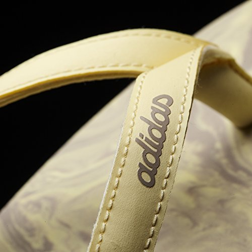 adidas Eeazy Ice Cream W BA8806 Damen Badepantoletten Weiß/Marineblau