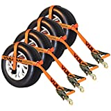 Orange Pro Series Adjustable Loop Tie Down W/ Snap Hook£¨Wheel Not Included£©