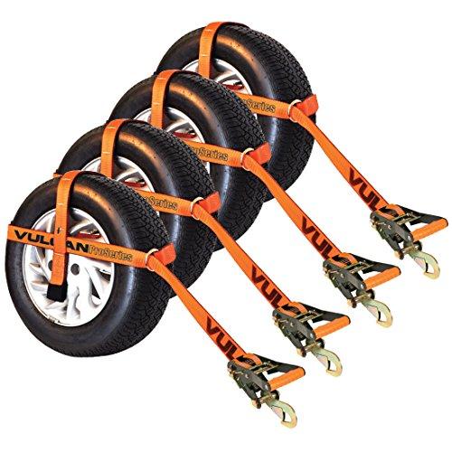 Orange Pro Series Adjustable Loop Tie Down W/ Snap Hook£¨Wheel Not Included£©