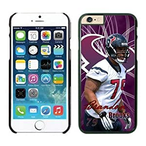 NFL Case Cover For Apple Iphone 5/5S Houston Texans Brandon Brooks Black Case Cover For Apple Iphone 5/5S Cell Phone Case ONXTWKHB1789