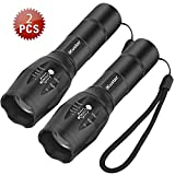Tactical Flashlights iKustar T6 LED Handheld Torches Flashlights - Best Reviews Guide