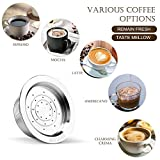 Walmeck Stainless Steel Reusable Coffee Capsules