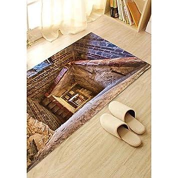 Hy Gg Diy 3d Spirale Treppen Rutschfeste Boden Aufkleber Home Decor