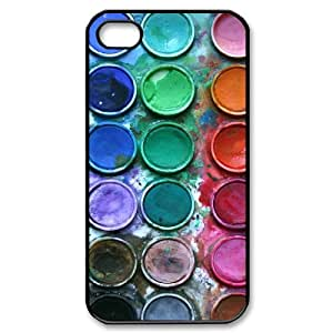 ZLGU(RM) Iphone 4,4S Case with Watercolor paint Customized Case, Personalized Cover Case