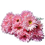10x-Silk-Gerbera-Daisy-Artificial-Flowers-Bouquet-Home-Wedding-Decoration