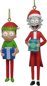 RICK AND MORTY Kurt Adler with Santa Hats