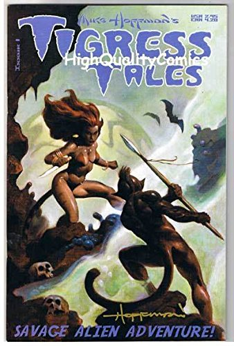 TIGRESS TALES #1, NM, Femme Fatale, Mike Hoffman, 2001, more indies in our store