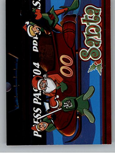 2004 Press Pass Season's Greetings #SC2 Santa with Sleigh NM-MT
