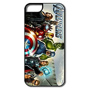 Nerdy Marvels Avengers IPhone 5/5s PC Covers Non-slip