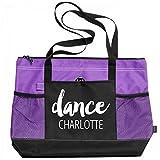 Ballet Dance Bag Charlotte: Gemline Select Zippered Tote Bag
