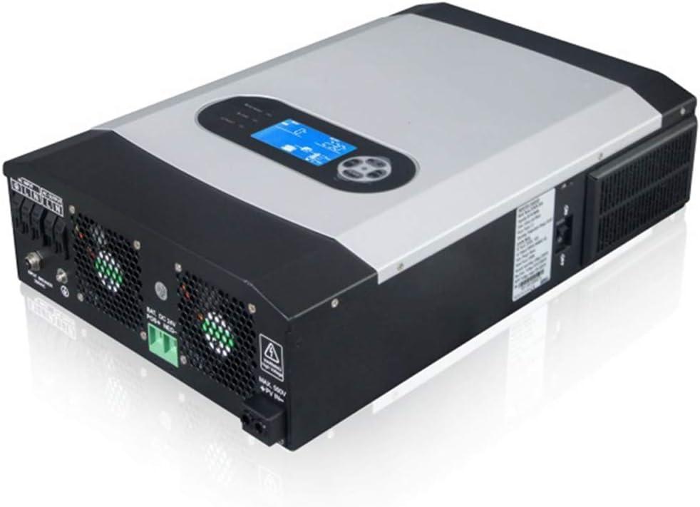 LQQ El Nuevo De Onda Sinusoidal Pura Inversor De La Energía, 3000W / 5000W Inversor Solar 500 Vdc 24V 220V 80A MPPT PV De Onda Sinusoidal Pura 3KVA 50Hz 60Hz Inversor De La Rejilla Inversor Cargador