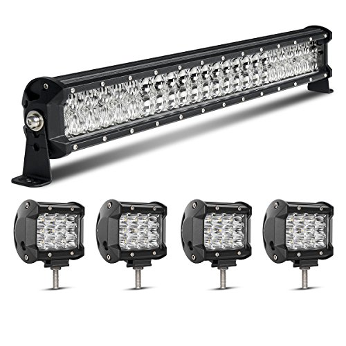 LED-Light-Bar-kit-Rigidhorse-Dual-Color-Light-Bar-Combo-WhiteAmber-Lights-Beam-Driving-Lights-LED-Bar-For-Off-Road-SUV-ATV-Jeep-Truck-Boat