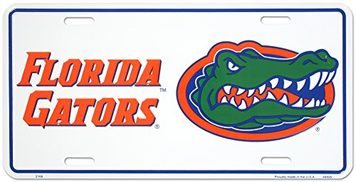 University of Florida Tin Sign 12 x 6in - University Florida Seal