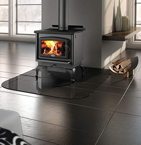 Osburn 1600 Wood Stove w/Black Door Overlay and Leg Kit (Osburn 1600 Wood Stove)