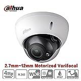 Dahua POE Dome Camera HDBW4431R-ZS (2.7mm~12mm) 4 Megapixel Varifocal Motorized IP Camera IR Night Version H265 Outdoor Security Surveillance Camera ONVIF International Version