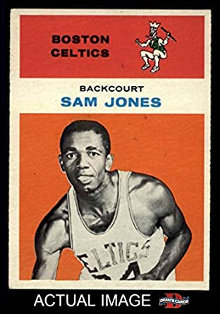 buy popular 322c6 1a5cd Amazon.com: 1961 Fleer # 23 Sam Jones Boston Celtics ...