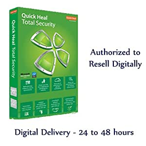 Quick Heal Total Security 1 Year 1 User - SENT VIA EMAIL ONLY