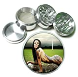 Muddy Soccer Girl Naked Sexy 4 Pc. Aluminum Tobacco Spice Herb Grinder