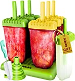 Best Mold Makers - Popsicle Molds Set - BPA Free - 6 Review