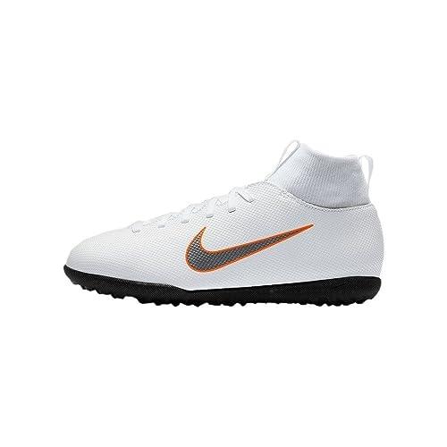 9410fae138058 Nike Mercurial Superfly X 6 Club TF Jr Ah7345 - Botas de fútbol Unisex  Adulto  Amazon.es  Zapatos y complementos