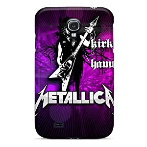 Scratch Resistant Hard Phone Covers For Samsung Galaxy S4 With Support Your Personal Customized Vivid Morbid Angel Band Series SherriFakhry