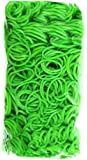 Rainbow Loom Official Lime Green 600pc refill Bands w/ C Clips