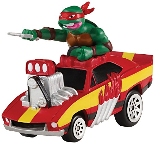 Teenage Mutant Ninja Turtles T-Machines Extreme Speed Demon with Raphael Vehicle with Sound