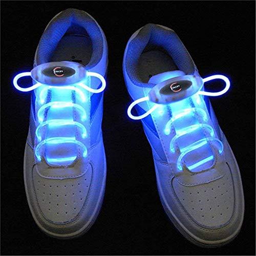 Ruanyi 1Pair 80cm Glow Shoelaces LED Sport Shoe
