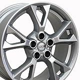 #9: 18x8 Wheel Fits Nissan, Infiniti - Nissan Maxima Style Silver Rim, Hollander 62582