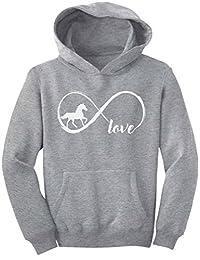 Tstars - Gift for Horse Lover Infinite Love Youth Hoodie