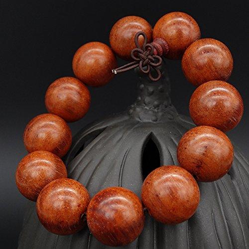Genuine iron pigeonpea red sandalwood bracelets rosewood rosewood small YE ebony cat eye beads bracelet bracelets natural