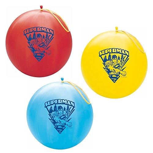 Superman Punch Ball / 2 punch balls per order ()