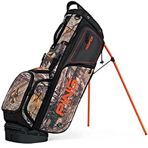 PING 2017 Hoofer Carry Stand Bag, Real Tree Camo