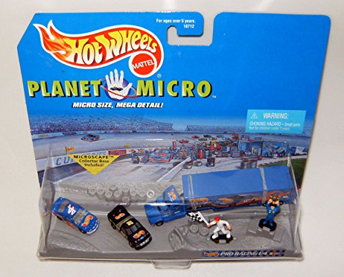 Hot Wheels Pro Racing 1/4 Series 1 - Hot Wheels Planet Micro Pro Racing Series