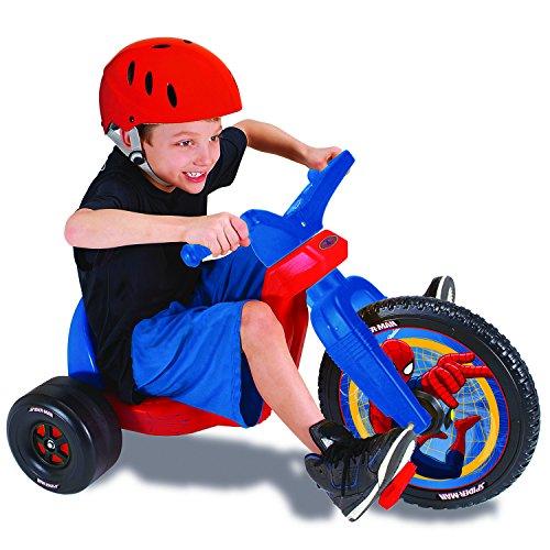 Disney Big Wheel 16'' Spiderman Ride On by The Original Big Wheel