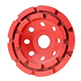 4 1 2 grinding cup - 4 1/2 in. Premium Wet/Dry Double Row Masonry Diamond Cup Grinding Wheel (115mm)