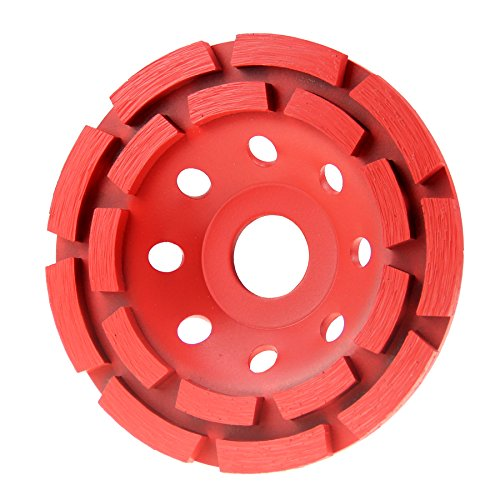 4 1/2 in. Premium Wet/Dry Double Row Masonry Diamond Cup Grinding Wheel (115mm)