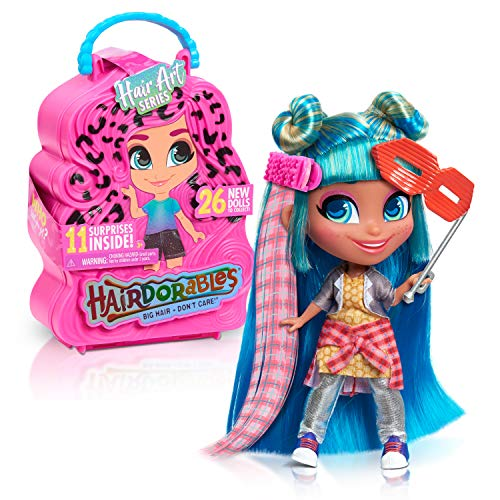 Hairdorables Collectible Dolls Hair Art, Series 5, styles may vary