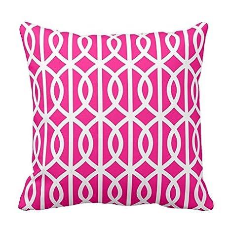 Funda de cojín para sofá decorativa, diseño de enrejado para ...