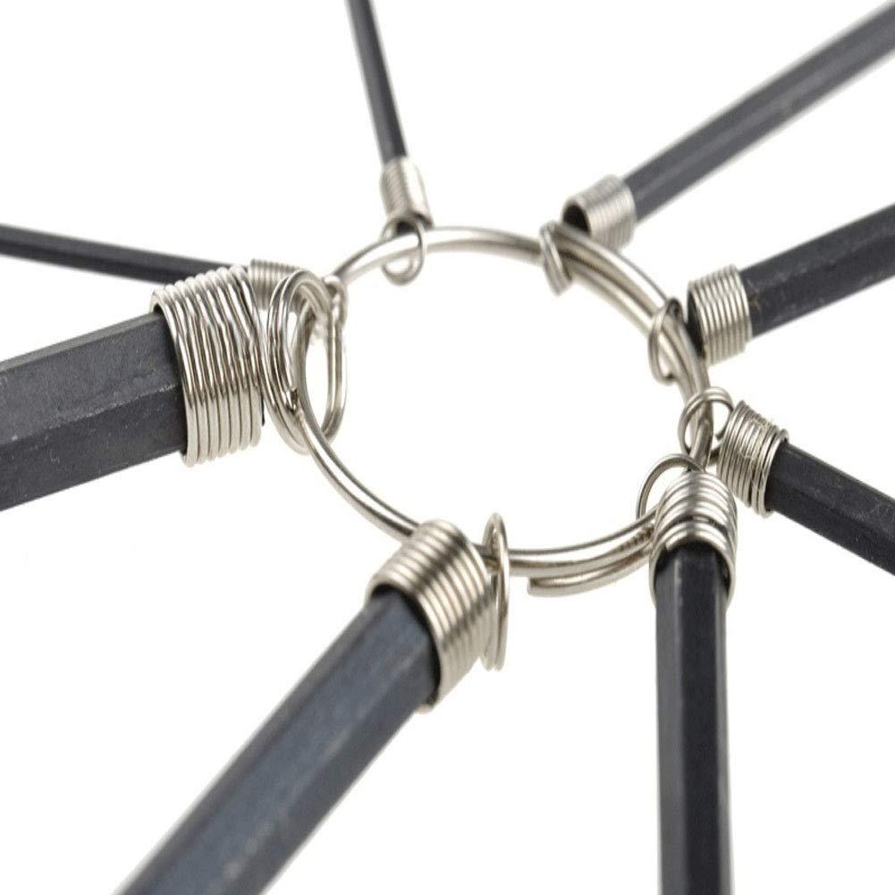 Sukisuki 8Pcs//Set Portable Hexagon Hex Key Wrench Spanner Bike Bicycle Repair Tool