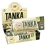 Cheap Meat Bar made with Buffalo, Turkey and Cranberries by Tanka, Jalapeno, Gluten Free Snack, 1 ounce bar, Pack of 12