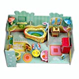3D Jigsaw Puzzles Toys for Preschool Puzzles Educational Toys For Toddlers /Kids/ Children /Boys/ Girls (Functional Bathroom)