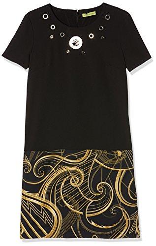 Versace Jeans Abito, Vestido Para Mujer Negro (Nero-E899)