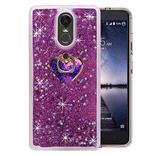 (1Pcs Sparkle Sandglass Wine Cup Liquid Floating Diamond Bracelet Fur Ball Phone Case for LG Stylo 4 Q Stylus Stylus 4 Plus Cover,34,for LG Stylo 4)